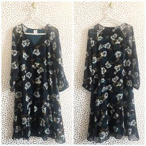 Cabi 3460 Pirouette Floral Dress